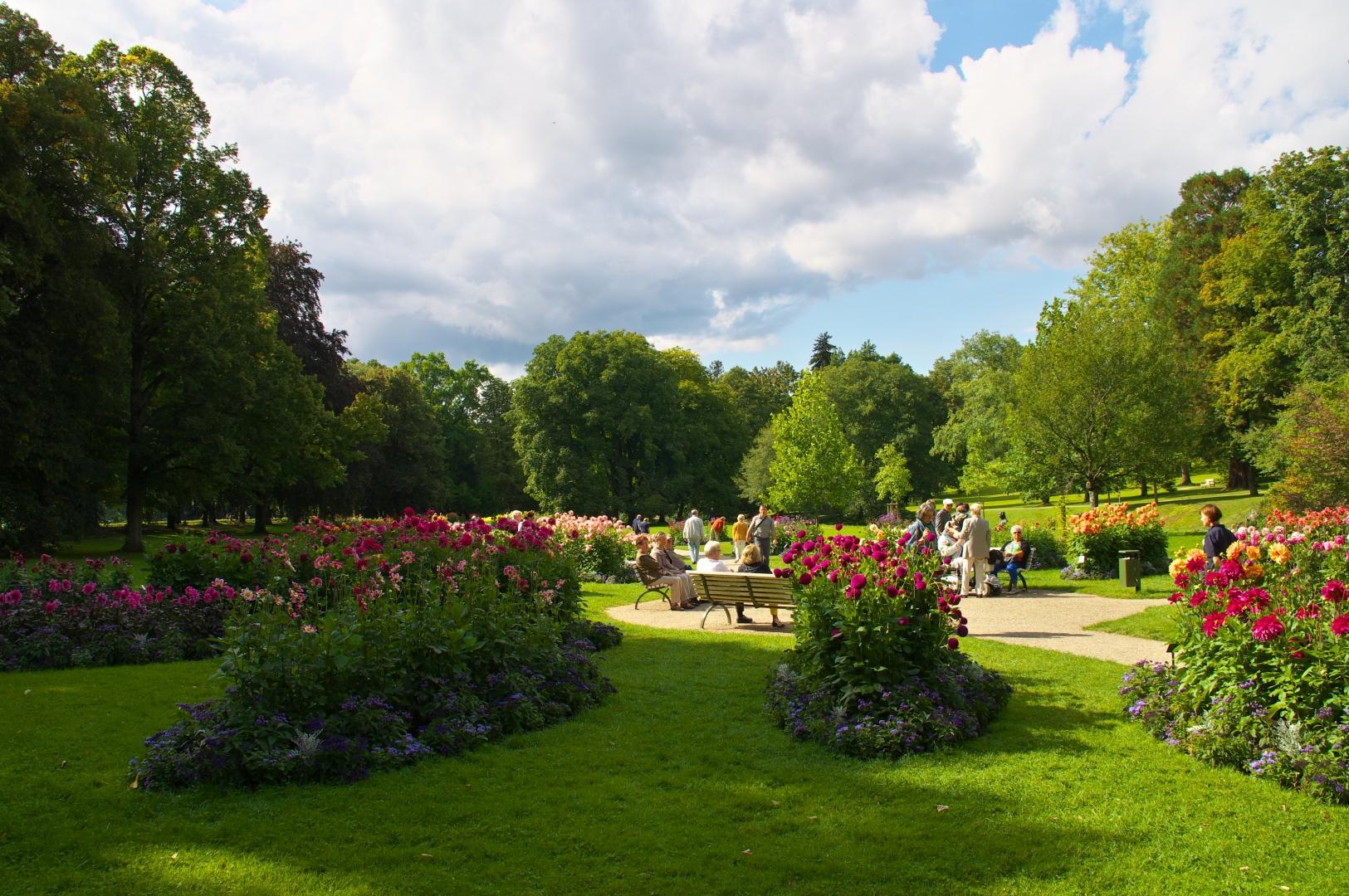 Dahliengarten Baden Baden